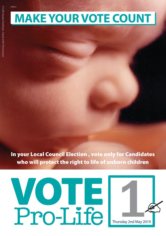 Vote Leaflet Page 1