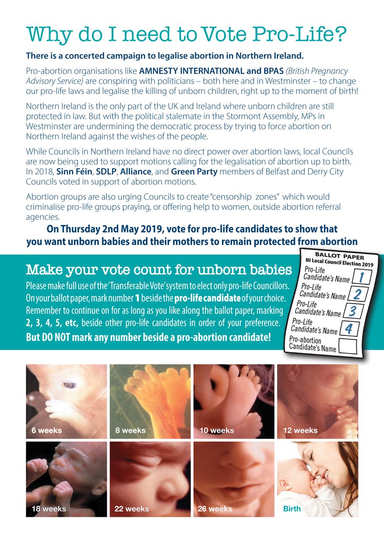 Vote Leaflet Page 2