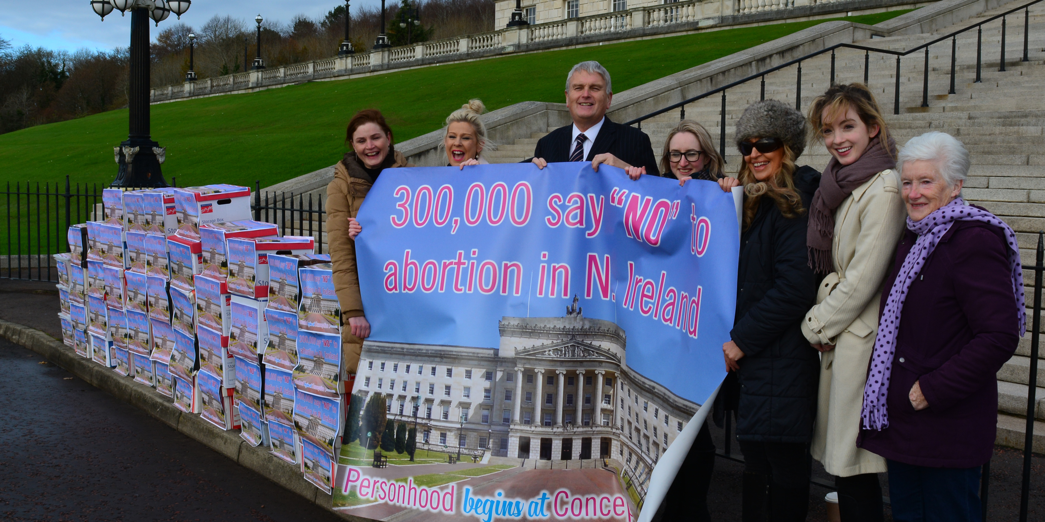 """300,000 people say NO to abortion in Northern Ireland"""