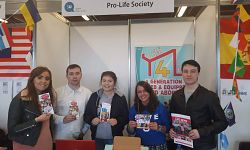Pro-Life Society at Queen's Fresher's Fair