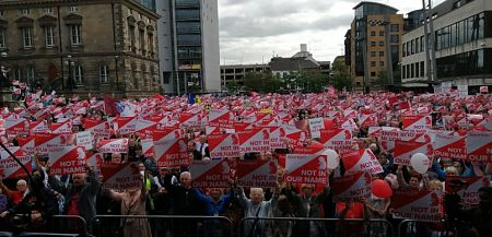 PRESS RELEASE: Belfast gridlocked as more than 20,000 MARCHED for their LIVES!