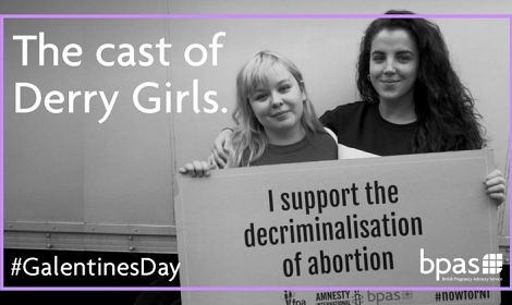 Cast of 'Derry Girls' using their platform to promote abortion up to BIRTH