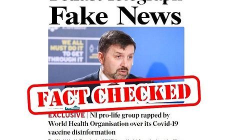 World Health Organisation and Belfast Telegraph rapped by NI pro-life group over abortion disinformation