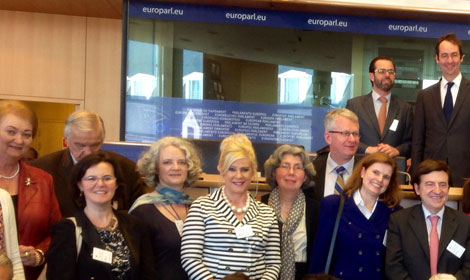 Precious Life attended the European Parliament's public hearing for the European Citizen Initiative One of Us