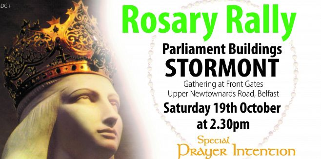 Rosary Rally against abortion in Northern Ireland